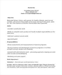 Personal Resume Examples by Download Trainer Resume Haadyaooverbayresort Com