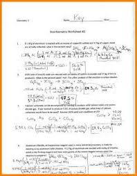 all worksheets stoichiometry worksheets printable worksheets
