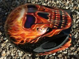 motocross style helmet flaming skull motocross helmet motocrosshelmetdesigns viscomm