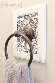 bathroom towel holder ideas 10 clever diy towel racks the budget decorator