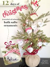 12 days of essential infused bath soak ornament