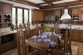 Old World Kitchen Tables by Old World Kitchen Designs Photo Gallery
