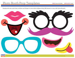 photo booth prop ideas diy photo booth at class homeroom