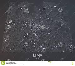 Lima Map Lima Map Peru South America Stock Illustration Image 71419581