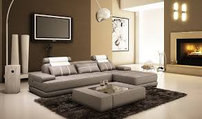 gray leather l shaped sectional couch with chaise lounge and