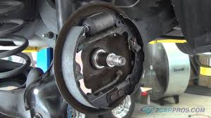 rear brake shoe and wheel cylinder replacement ford focus 1999