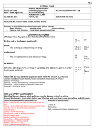 year 7 8 and 9 hockey unit plans and lessons by hworkman