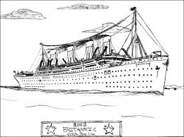 coloring pages of the titanic 28 britannic coloring pages fictional titanic by idahofox on