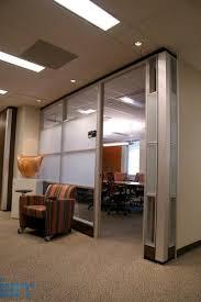 frameless glass sliding doors for modular office partitions