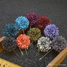 flowers for men discount new fashion men brooch flower lapel pin suit boutonniere