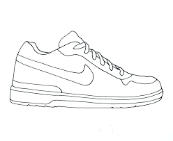 shoe sketches clipart 17
