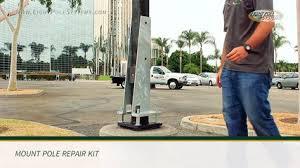 light pole systems pole repair kit dailymotion