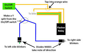 motorcycle hazard lights wiring diagram diagram wiring diagrams
