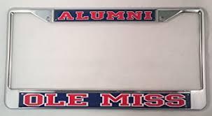 ole miss alumni sticker of mississippi ole miss alumni license