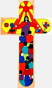 wooden crosses for crafts of all nations painted wooden cross 25cm folk