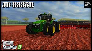 john deere tractor game 8335r john deere tractor john deere l la new holland t6 john deere john deere 8335r fazendeiro goiano 23 farming simulator 2015