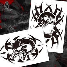 buy free skull stencils and get free shipping on aliexpress com