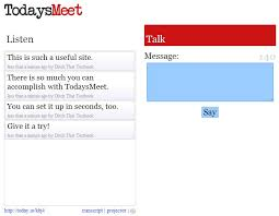 today s 20 useful ways to use todaysmeet in schools ditch that textbook