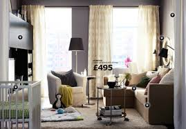a small livingroom furnished with light beige two seat sofa and gallery of ikea living room ideas inspiration space about remodel home interior design models