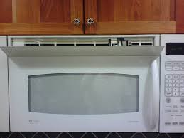 microwave with exhaust fan collin park vent stuck open on ge jvm3670sf08 over counter