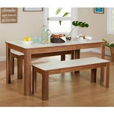 breakfast table simple living dex 3 piece breakfast table and bench set free