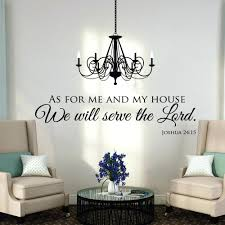 Scripture Wall Decals For Nursery Scripture Wall Decals For Nursery As For Me And My House Wall