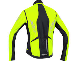 hi vis softshell cycling jacket gore bike wear xenon 2 0 windstopper soft shell thermal jacket