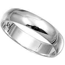 mens silver wedding rings mens silver wedding rings ebay