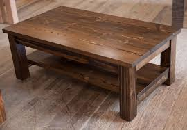 Wooden Coffee Table Rustic Wooden Coffee Table With Wheels Best Gallery Of Tables