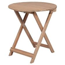 Wood Accent Table Patio Wood Folding Accent Table Threshold Target