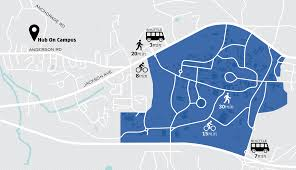 Oxford Ohio Map by Oxford