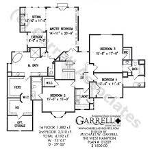 luxury estate floor plans hton house plan estate size house plans