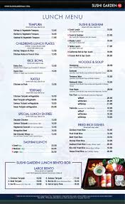 sushi garden menu qdpakq com
