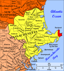 Massachusetts Map Rockport Is A Town In Essex County Massachusetts Us The