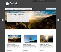 wordpress layout how to debut theme wordpress com