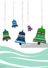 various design of ornamental bells stock illustration getty images