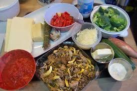 cuisiner les chanterelles grises cuisine en folie lasagnes végé aux chanterelles grises et brocolis