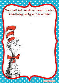 free printable dr seuss u2013 cat in the hat invitation template