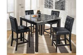 Counter Height Dining Room Furniture by Maysville Counter Height Dining Room Table And Bar Stools Set Of