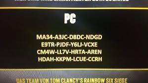 siege free free rainbow six codes shooter amino