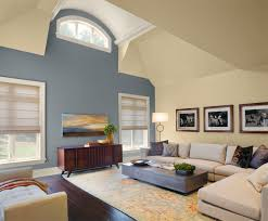 a living room 1 nopillow v6 arch ceiling detail navy walls and