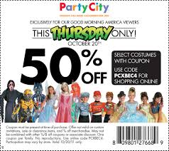 party city halloween costumes sale party city printable coupon