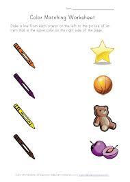 75 best pre k color worksheets activities images on pinterest