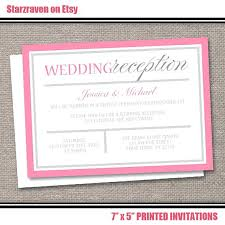 reception only invitations wording for wedding reception only invitations and wedding