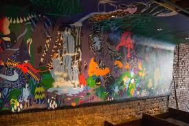 juban carries on the mural of izakaya ten cool hunting juban nyc izakaya ten mural erick hice 2