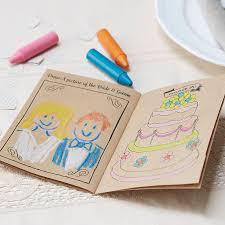 vintage kraft kids entertainment wedding activity book by ginger