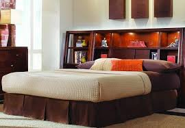 King Size Storage Headboard Contemporary Bedroom With King Size Storage Headboard Wooden
