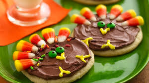 turkey cookie treats recipe bettycrocker