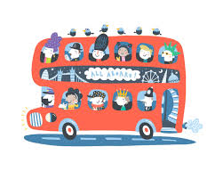 nathan reed london bus illustration limited edition glicee art
