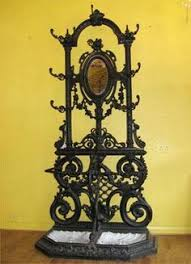 wrought iron coat racks standing antique wrought iron american